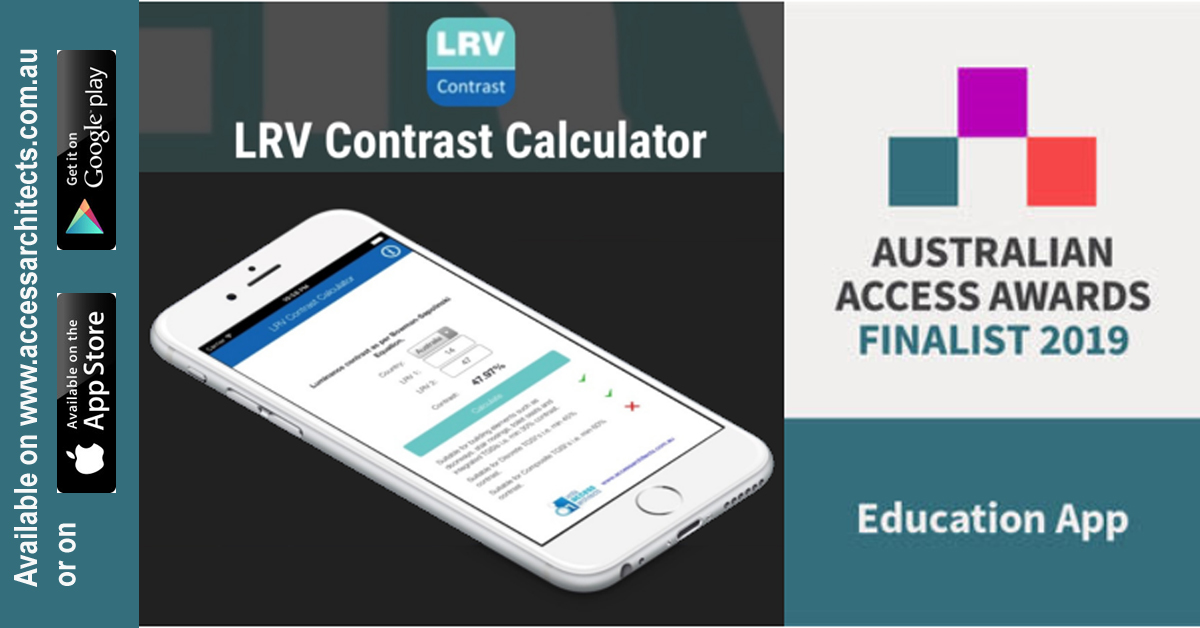 LRV App by Vista Access judged a finalist in the Australian Access Awards for the Educational app of the year category